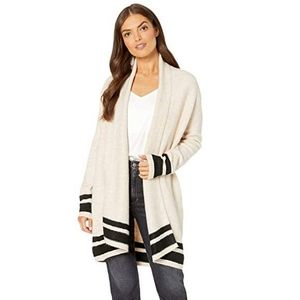 Cupcakes and Cashmere Hank Striped Cardigan